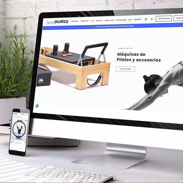 Bonpilates - Desarrollo web y marketing