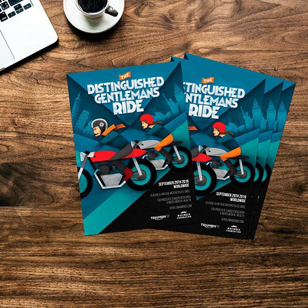 Distinguished Gentleman's Ride Alicante - Creatividad, diseño, organización de evento y marketing online