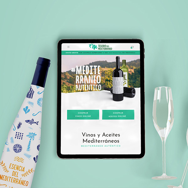 Tesoro del Mediterráneo - Creación de marca, desarrollo web, marketing y estrategia