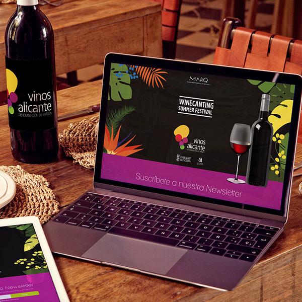 Vinos de Alicante - Desarrollo web y marketing online
