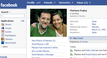mariano facebook 1 - Redes Sociales en política: el gran peligro