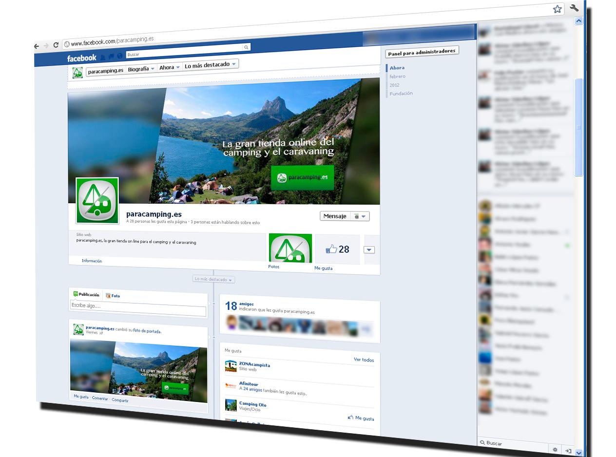 paracamping1 1 - Redes Sociales: Nuevas páginas de Facebook en marcha