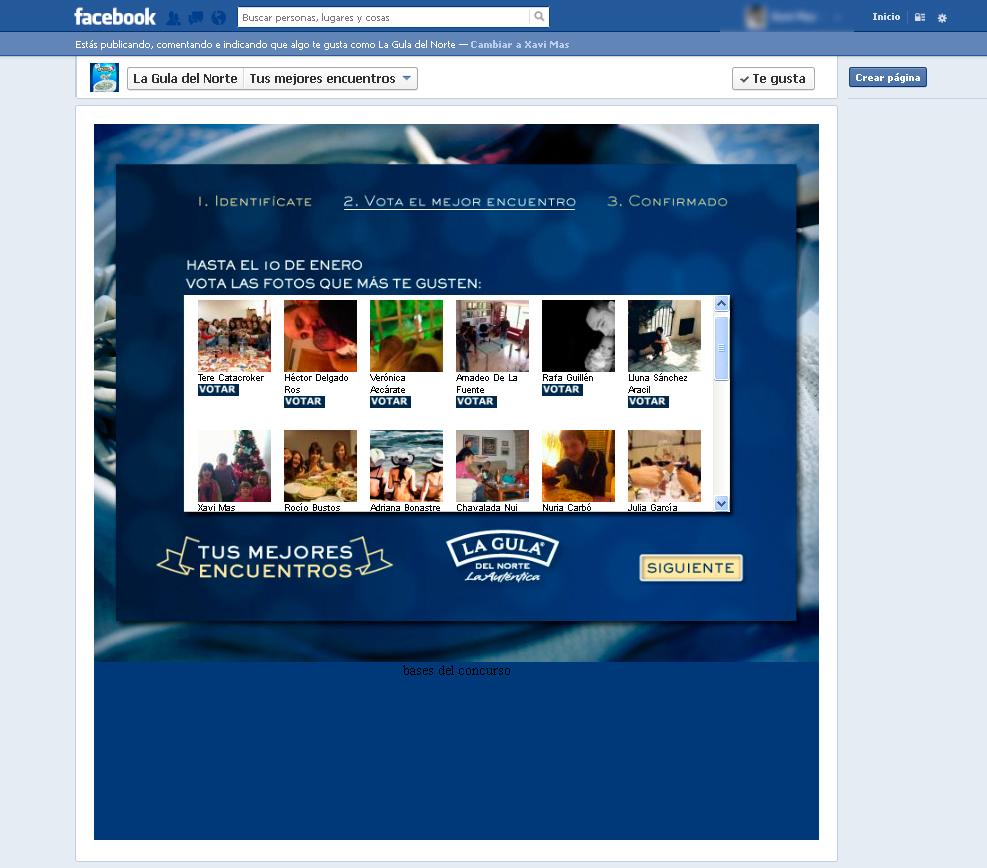 fotos1 1 - Coodex desarrolla dos aplicaciones de Facebook para La Gula del Norte