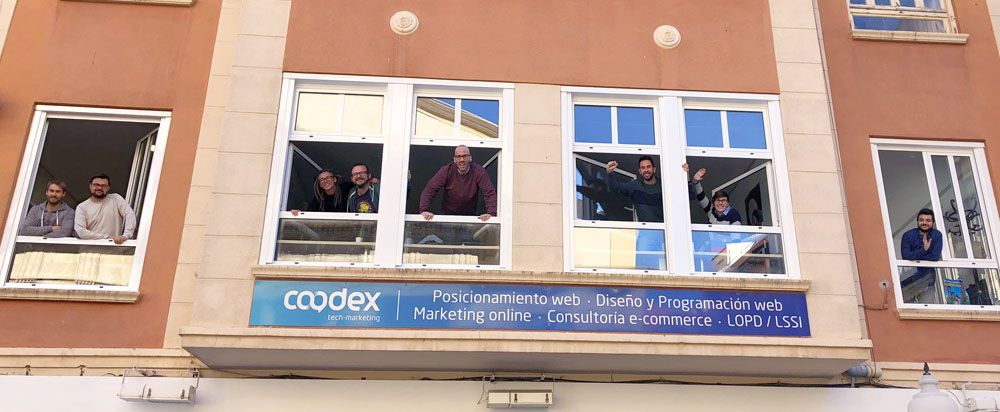 Coodex Marketing Alicante fachada