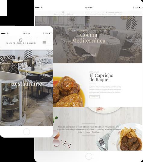 el capricho de raquel portfolio 1 - Diseño web, marketing online Alicante: El Capricho de Raquel