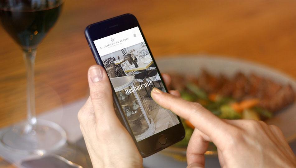 el capricho de raquel portfolio 3 - Diseño web, marketing online Alicante: El Capricho de Raquel