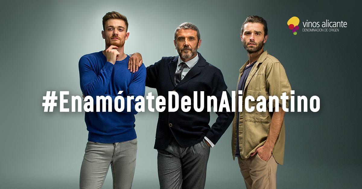 enamorate de un alicantino - Gran éxito de la original campaña de Vinos Alicante DOP