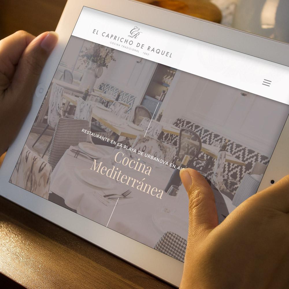 diseno web capricho raquel restaurante 05 1000 1 - Diseño web, marketing online Alicante: El Capricho de Raquel