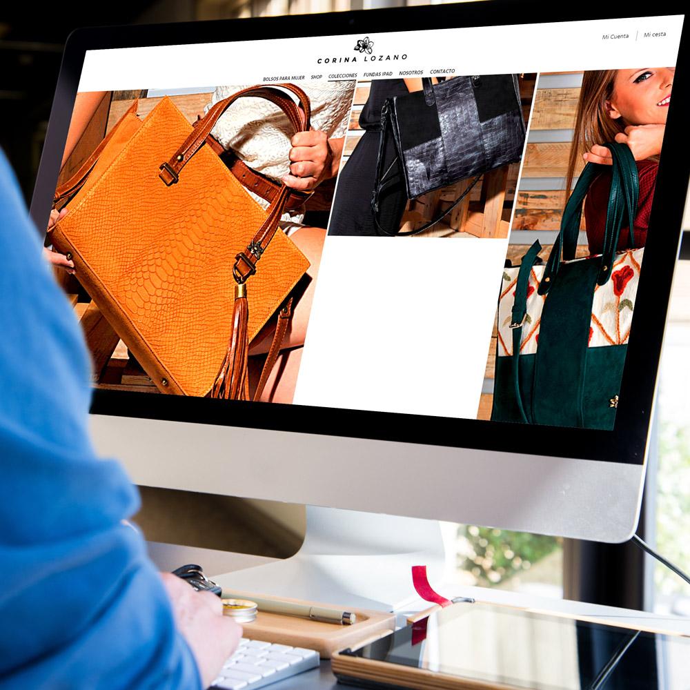 diseno web corina lozano tienda bolsos 04 1000 - Diseño tiendas online Alicante: Corina Lozano