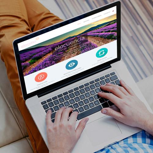 diseno web elocutio lenguage services traduccion 01 500 - Diseño y desarrollo de páginas web en Alicante: Elocutio