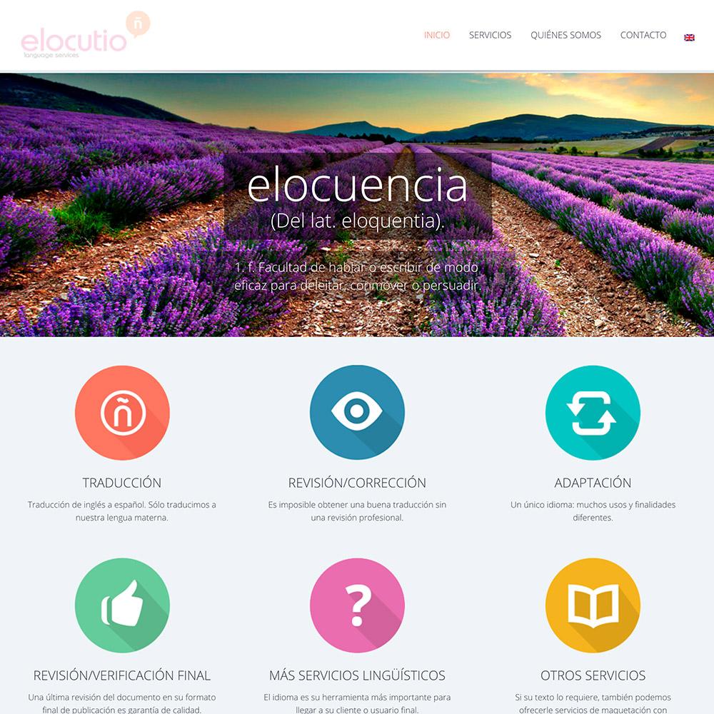 diseno web elocutio lenguage services traduccion 04 1000 - Diseño y desarrollo de páginas web en Alicante: Elocutio