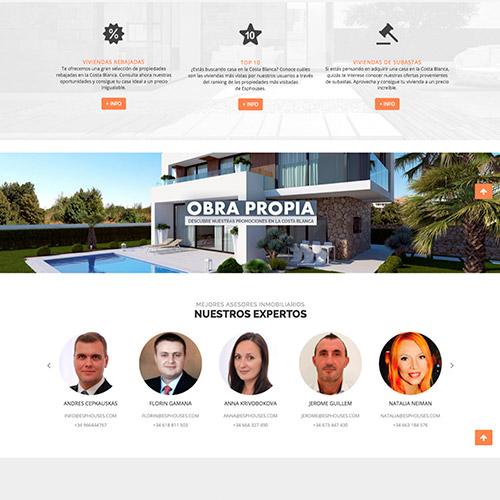 diseno web esphouse inmobiliaria venta casas 03 500 - Diseño páginas web Alicante: Esphouses