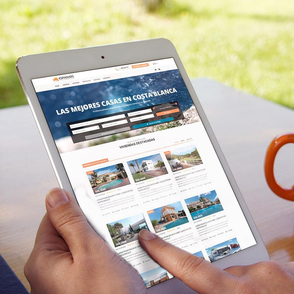 diseno web esphouse inmobiliaria venta casas 06 1000 - Diseño páginas web Alicante: Esphouses