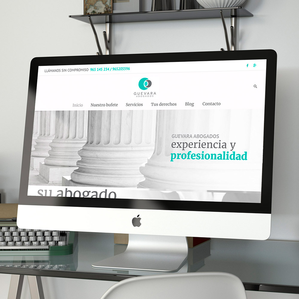 diseno web guevara abogados 01 1000 3 - Diseño web alicante, Guevara Abogados