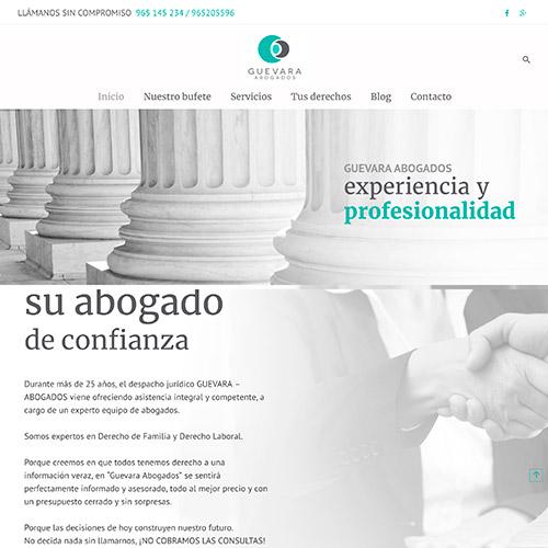 diseno web guevara abogados 06 1000 1 - Diseño web alicante, Guevara Abogados