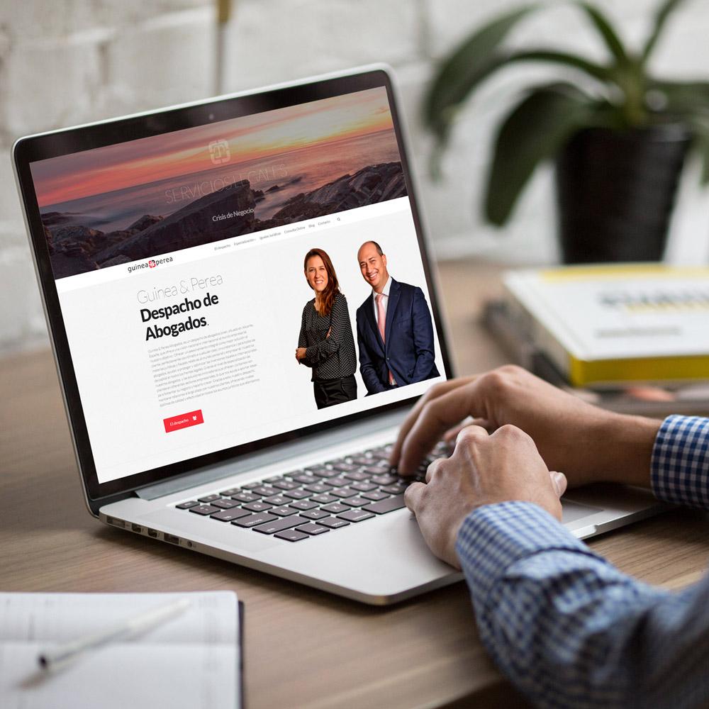 diseno web guineayperea abogados 01 1000 - Diseño web en Alicante: Guinea & Perea