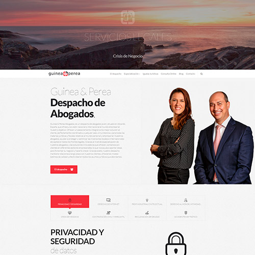 diseno web guineayperea abogados 02 500 - Diseño web en Alicante: Guinea & Perea