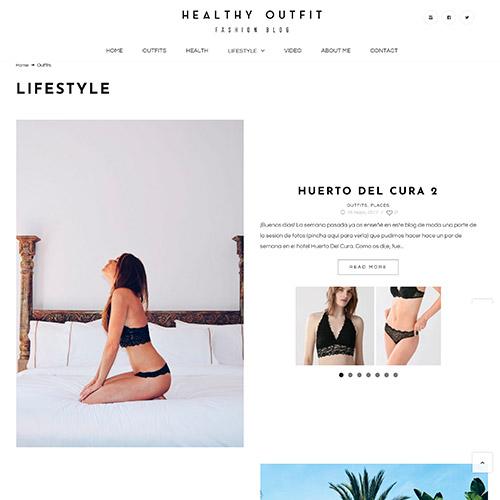 diseno web healthy outfit fashion blog 03 500 - Diseño de páginas web Alicante: Healthy Outfit