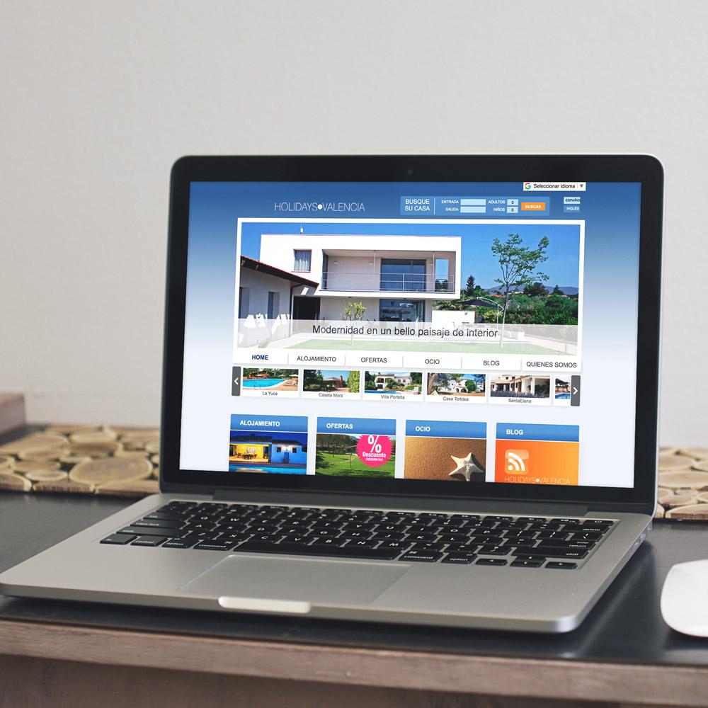 diseno web holidayinvalencia casas valencia 01 1000 - Diseño de páginas web en Alicante y Valencia: Holidays in Valencia