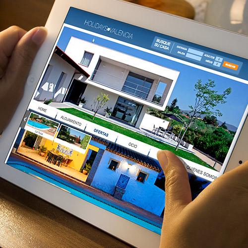 diseno web holidayinvalencia casas valencia 06 500 - Diseño de páginas web en Alicante y Valencia: Holidays in Valencia