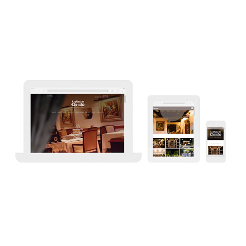 diseno web masia chencho restaurante 05 500 - Diseño de páginas web en Alicante Elche: La Masía de Chencho
