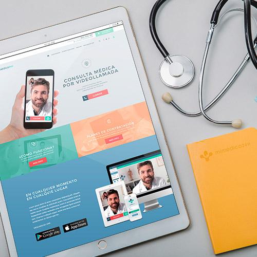 diseno web mimedico24h web medicina servicios 01 500 - Diseño de páginas web Alicante: Mimédico24h