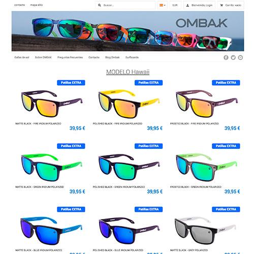 diseno web ombak tienda online gafas 02 500 - Diseño de tiendas online con Prestashop: Ombak