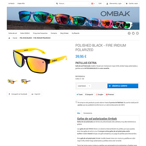 diseno web ombak tienda online gafas 04 500 - Diseño de tiendas online con Prestashop: Ombak