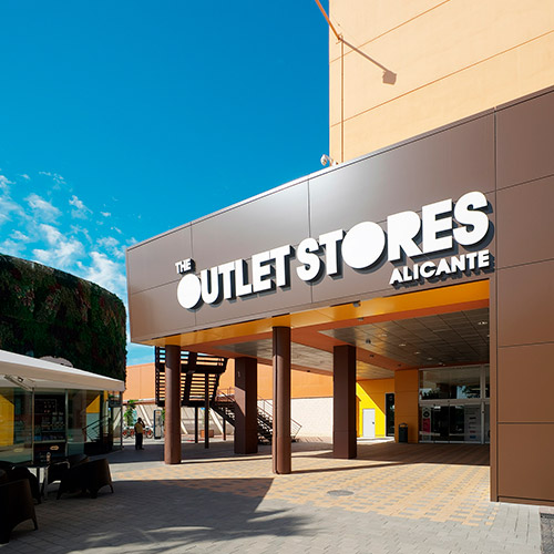 diseno web oulet store centro comercial tiendas 06 500 - Diseño web Alicante: Centro Comercial The Outlet Stores