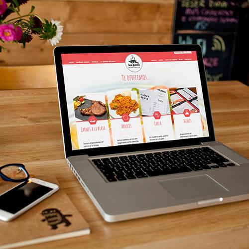 diseno web pacos restaurante 06 500 - Diseño web Alicante: Restaurante Brasería Los Pacos