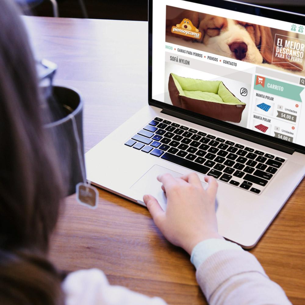 diseno web piensoycama tienda productos mascotas 01 1000 - Diseño de tiendas online con Prestashop: Pienso y cama