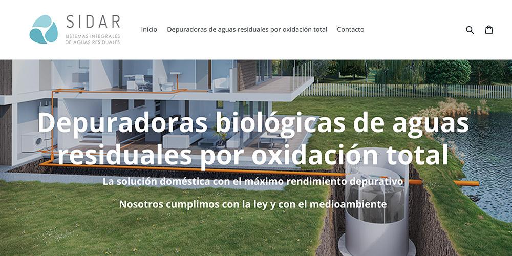 diseno web sidar servicio depuradoras 05 1000x500 - Diseño de páginas web en Alicante: SIDAR