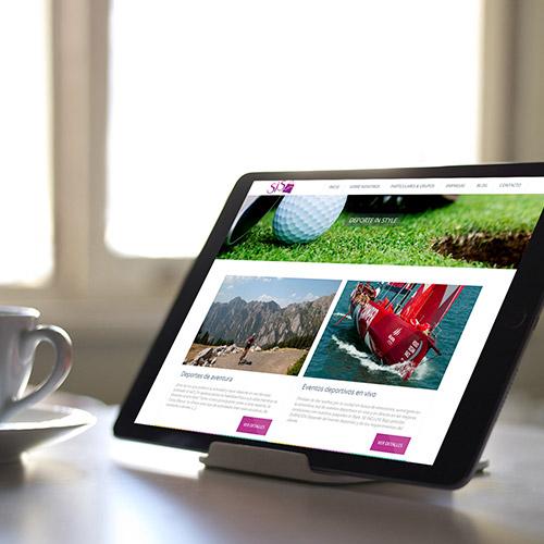 diseno web sistour organizacion eventos 05 500 - Desarrollo y diseño de páginas web en Alicante: Sistours