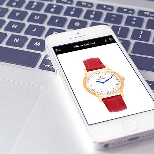 diseno web trevor Noland tienda online relojes 06 500 - Diseño tiendas online y marketing online Alicante: Trevor Noland