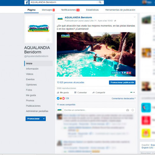 marketing online aqualandia publicidad atraciones aquaticas 05 500 - Marketing online; servicios generales Aqualandia