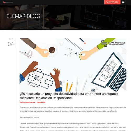 diseno web elemar ingenieros servicios ingieneria construcción 01 500 copia - Diseño páginas web Alicante: Elemar Ingenieros