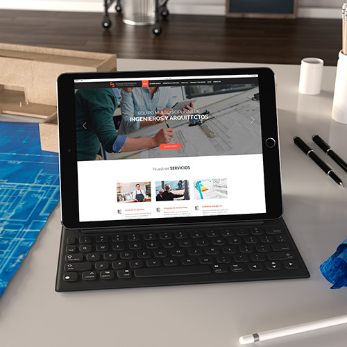 diseno web elemar ingenieros servicios ingieneria construcción 03 500 copia - Diseño páginas web Alicante: Elemar Ingenieros
