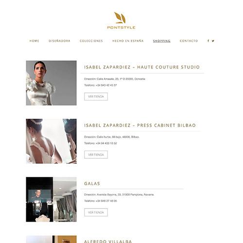 diseno web pontstyle diseño moda tiendaonline 02 500 - Diseño páginas web Alicante: Pontsytle