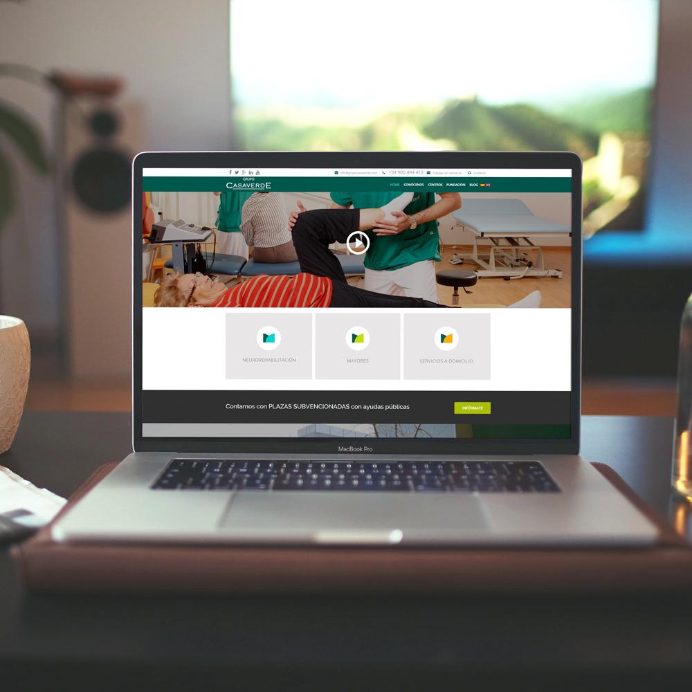 portfolio casaverde 0 - Marketing Online, campañas SEO - SEM y diseño web: Grupo Casaverde