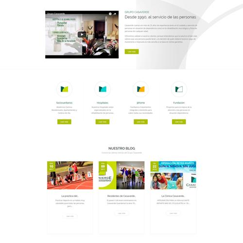 portfolio casaverde 2prev - Marketing Online, campañas SEO - SEM y diseño web: Grupo Casaverde