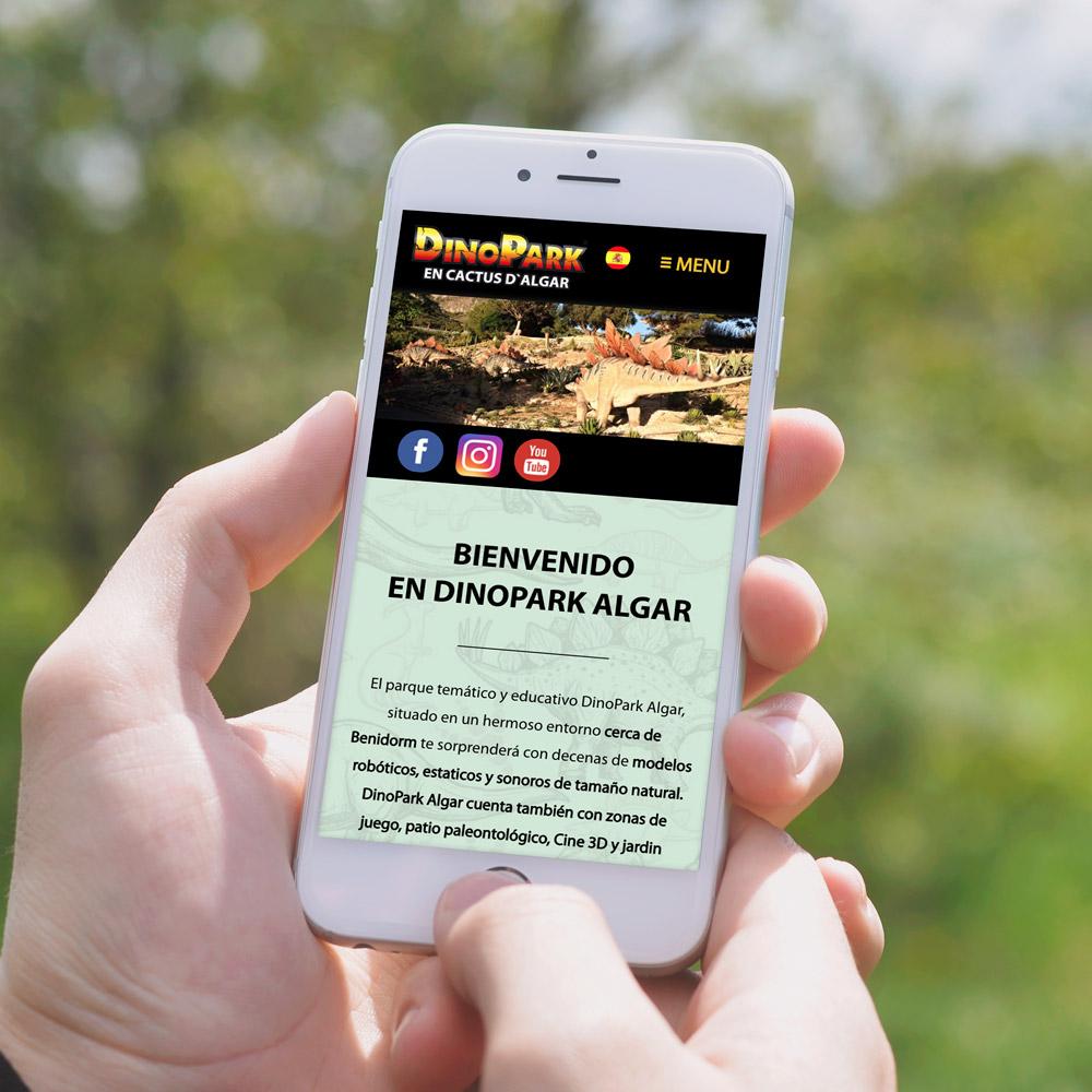 portfolio dinopark 0 - Marketing online, campañas SEM y SEO: DinoPark