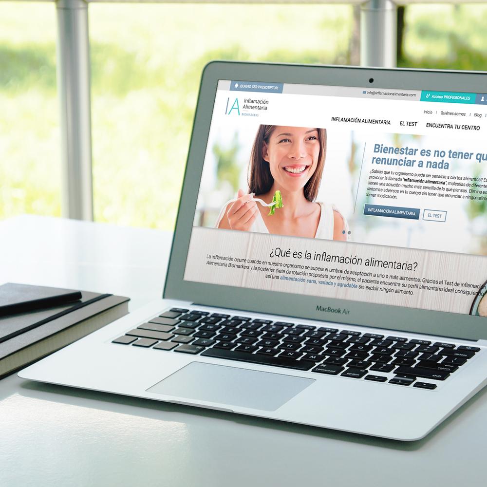 portfolio inflamacionAlimentaria 0 - Marketing online y Posicionamiento SEO Alicante: Inflamación Alimentaria